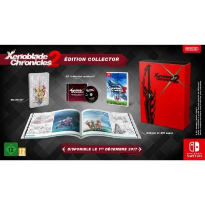 Xenoblade Chronicles 2 Jeu Switch - Édition Collector