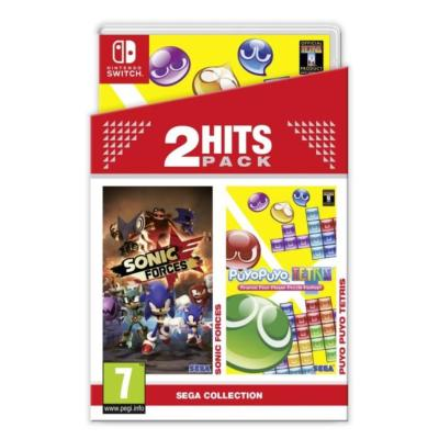 Pack Sonic Forces + Puyo Puyo Tetris Jeu Switch